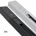 Carril Monofásico 2 metros REFORZADO para Focos LED