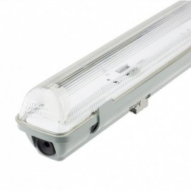 [Ibérica de Iluminación]Pantalla estanca para un tubo de LED IP65 60cm