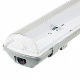 [Ibérica de Iluminación]Pantalla estanca para dos tubos LED  IP65 120cm