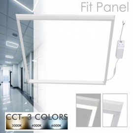 FIT Panel LED 60x60 44W Marco Luminoso Blanco - CCT