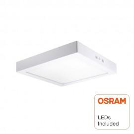 Plafón LED Superficie Cuadrado 20W - OSRAM CHIP DURIS E 2835