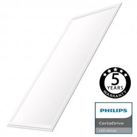 Panel LED 120x60 80W - CERTA Driver Philips 5 años Garantía