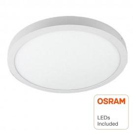 Plafón LED Superficie Circular 30W - OSRAM CHIP DURIS E 2835