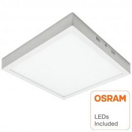 Plafón LED Superficie Cuadrado 30W - OSRAM CHIP DURIS E 2835