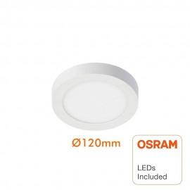 Plafón LED Superficie Circular 8W - OSRAM CHIP DURIS E 2835