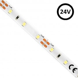 Tira LED 24V   60xLED/m   5m   SMD2835   780Lm   5W/M   IP20