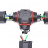 [Ibérica de Iluminación]Conector de cables en - T - IP67