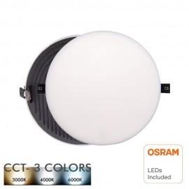 Downlight LED 18W Frameless QUASAR - OSRAM CHIP DURIS E 2835 - CCT