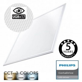 Panel LED 60x60 44W Philips Certa Driver UGR17 - CCT