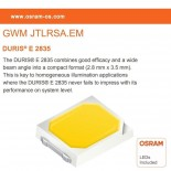 Foco Proyector LED 30W AVANT OSRAM CHIP DURIS E 2835 - Sensor Movimiento PIR