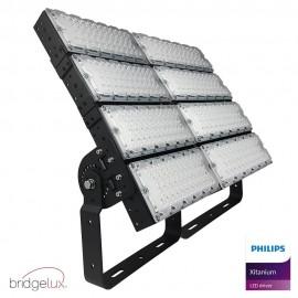 Foco Proyector LED 960W PHILIPS Xitanium STADIUM MATRIX Bridgelux Chip 40º - Driver Philips