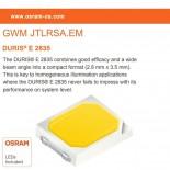 Placa Slim LED Circular 5W OSRAM Chip
