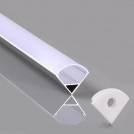 Perfil Aluminio L Angular 2m
