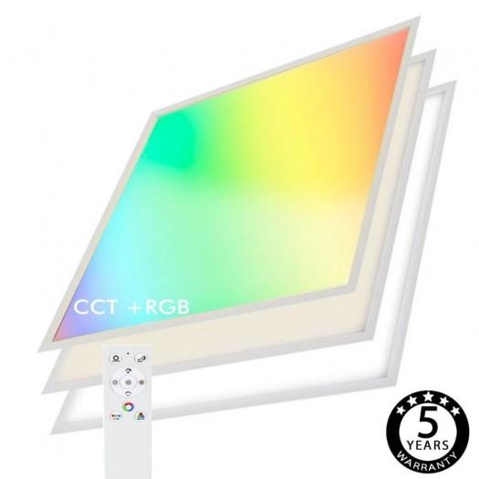 Panel LED 60x60 40W WiFi SMART RGB+CCT - Regulable