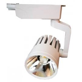 Foco LED 30W ROMA WHITE para Carril Monofásico 35º