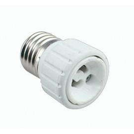 [Ibérica de Iluminación]Casquillo Adaptador   E27-GU10
