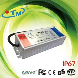 [Ibérica de Iluminación]Fuente Alimentación 12V 60W 4A - Aluminio IP67