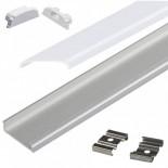 [Ibérica de Iluminación]Perfil Flexible Aluminio U 2 metros