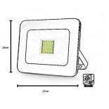 [Ibérica de Iluminación]Foco Proyector Exterior LED Luxury 20W Negro