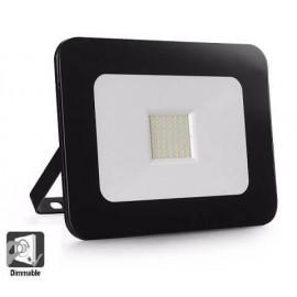[Ibérica de Iluminación]Foco Proyector Exterior LED Luxury 50W Negro