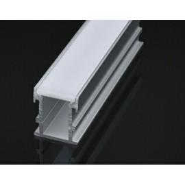 [Ibérica de Iluminación]Perfil de Aluminio Modelo SUELO - 2 Metros