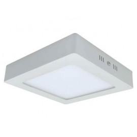 [Ibérica de Iluminación]Plafón LED Superficie cuadrado 18W 120º -IP20-Interior