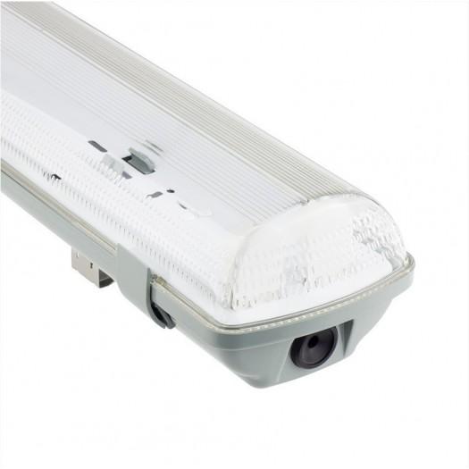 [Ibérica de Iluminación]Pantalla estanca para dos tubos LED  IP65 60cm