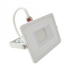 [Ibérica de Iluminación]Foco Proyector Exterior Blanco LED 10W IP65 Elegance 3 años de garantia 2835-3D
