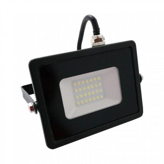 [Ibérica de Iluminación]Foco Proyector LED Exterior Negro 100W IP65 Elegance 3 años de garantia