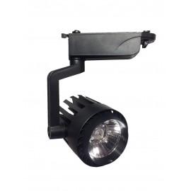 [Ibérica de Iluminación]Foco LED 30W NORA Negro Carril Monofásico