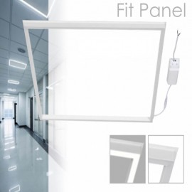 FIT Panel LED 60x60 cm 40W Marco Blanco