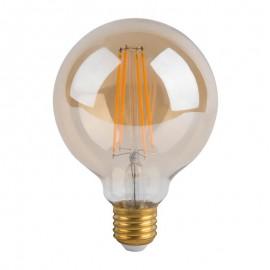 [Ibérica de Iluminación]Bombilla LED Filamento Vintage 6W E27 G80 Gold