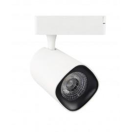 Foco LED 40W LYDIA WHITE para Carril Monofásico 24º