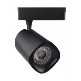 [Ibérica de Iluminación]Foco LED 40W  LYDIA Negro Carril Monofásico CRI +90