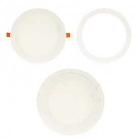 [Ibérica de Iluminación]Aro Blanco Supletorio cubre hueco para Downlight 25,5 cm