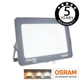 [Ibérica de Iluminación]Foco Proyector LED 100W COLOR AJUSTABLE AVANCE OSRAM CHIP 3000K-4000K-6000K
