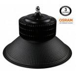 [Ibérica de Iluminación]Campana industrial LED PRO Black 150W chip OSRAM SMD 3030 -2D