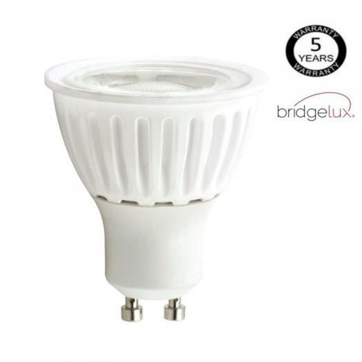[Ibérica de Iluminación]Dicroica LED COB 9W 24º Cerámica  GU10 5 Años Garantia