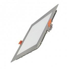 [Ibérica de Iluminación]Placa LED Slim Cuadrada 20W Acero Inox