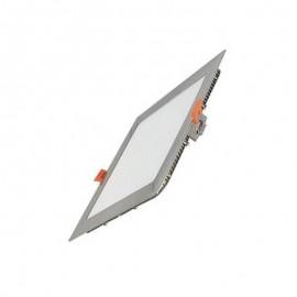 [Ibérica de Iluminación]Placa LED Slim Cuadrada 8W Acero Inox