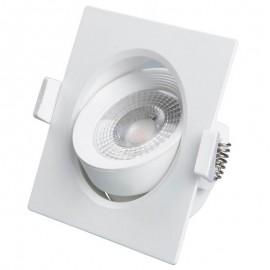 [Ibérica de Iluminación]Empotrable LED 7W Cuadrado 45°