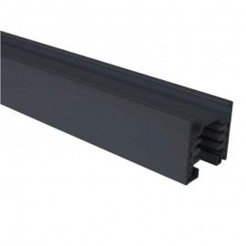 Carril TRIFASICO de 1 metro Negro