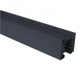 Carril TRIFASICO de 2 metros Negro