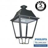 [Ibérica de Iluminación]Farola Villa Aluminio LED 50W LUMILEDS 150Lm/W