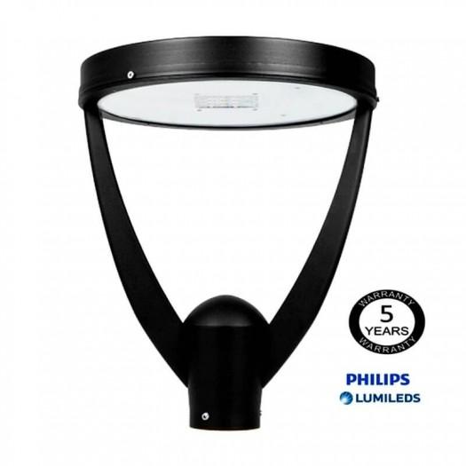 [Ibérica de Iluminación]Farola LED 40W CONIC Philips Lumileds SMD 3030 165Lm/W
