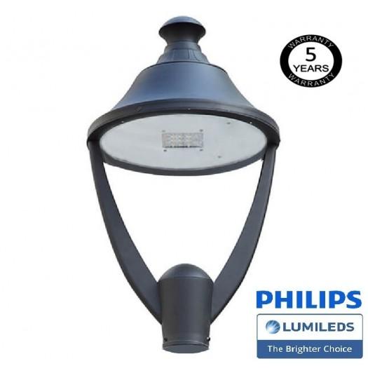 [Ibérica de Iluminación]Farola LED 40W VALLEY Philips Lumileds SMD 3030 165Lm/W