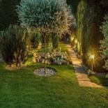 [Ibérica de Iluminación]Baliza para LED E27 Circular Acero Inox 60cm Exterior