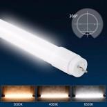 [Ibérica de Iluminación]Tubo MAX LED 18W Cristal 120cm 300º - ALTA LUMINOSIDAD