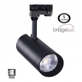 [Ibérica de Iluminación]Foco LED 30W MAYA Negro  TRIFASICO Dimmable DOB Driverless 24º