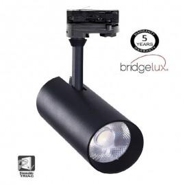 [Ibérica de Iluminación]Foco LED 30W MAYA Negro TRIFASICO DOB Driverless 24º